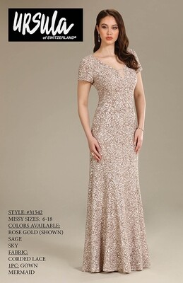 Ursula of Switzerland 31542 size 18