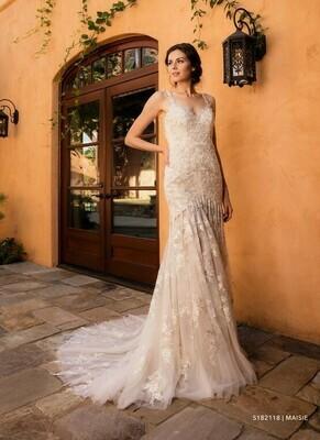 Evelyn Bridal Wedding dress size 12