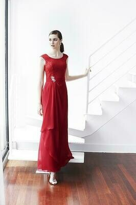 Kenneth Winston Colour dress 5223 size 16