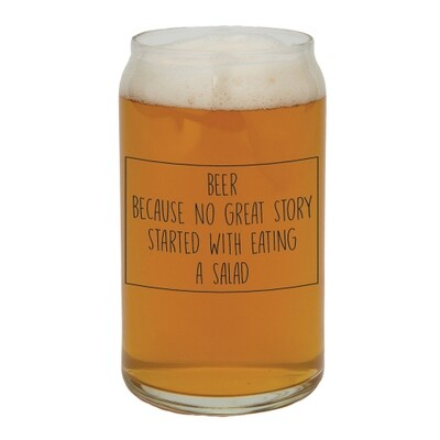 Beer Story beer glass