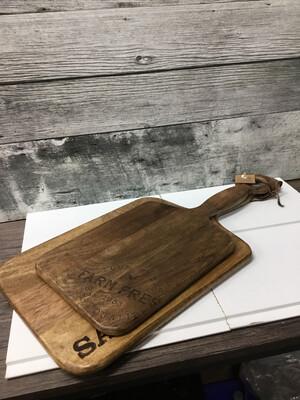 Rustic Wood Board Set