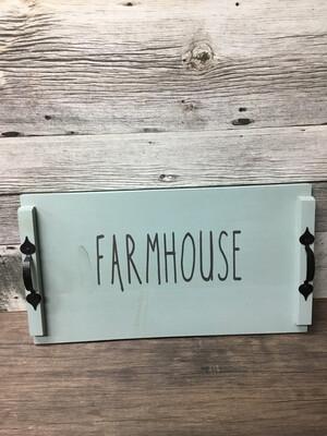 Farmhouse Tray 12 x 24