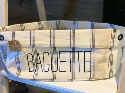 Canvas Baguette Holder