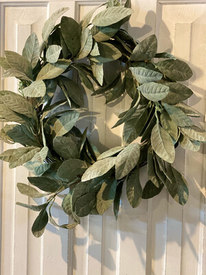 Frosted Wreath 20