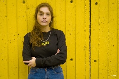 RAVE ON | LIMITED EDITION | Long sleeves T-Shirt - YELLOW - Numbered 1 to 26
