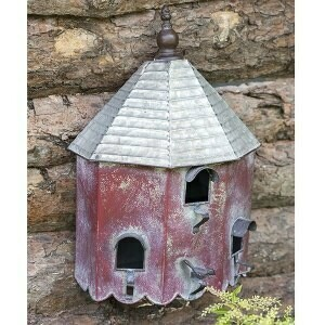 (371) Heartwood Summer Birdhouse