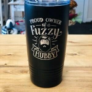Tumbler, Fuzzy Hubby