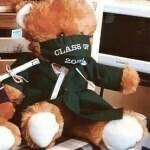 Grad Bear (Green)