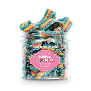 Candy, Rainbow Sour Belts