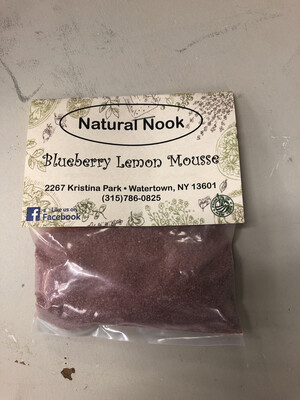 Blueberry Lemon Mouse