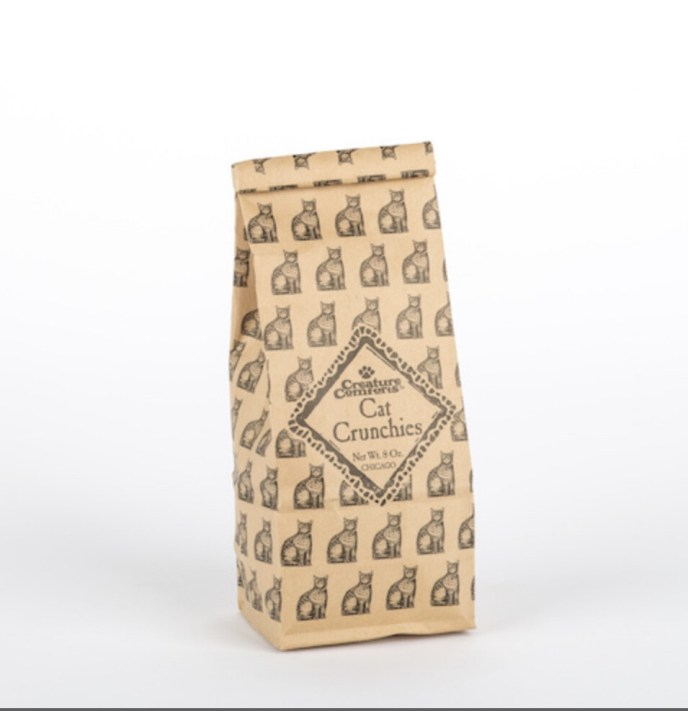 47 Cat Crunchies™ - 1/2 lbs Kraft Bag