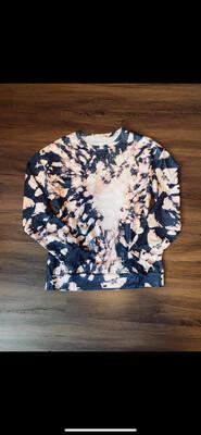 (124) Pink Tie-Dye Top