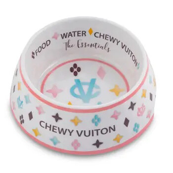 102 Chewy Vuitton Bowl