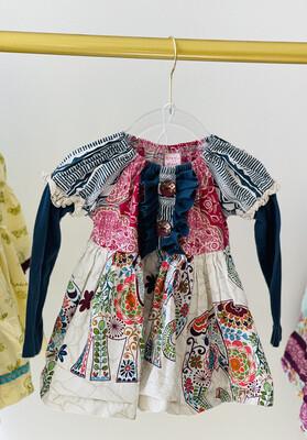 7 Giggle Moon LS Dress