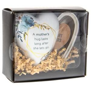 (620) ART HEART KEEPER, TRINKET BOX - MOTHER'S HUG