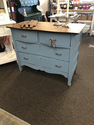 Dusty Blue Dresser