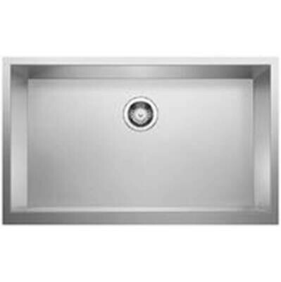 Blanco Precision R0 Durinox Apron Super Single Kitchen Sink