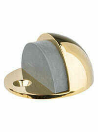 Von Morris Hardware Low Dome Door Stop