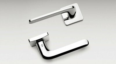 Colombo Design Door Lever ROBOQUATTRO/S -ID51NA- DOUBLE DUMMY