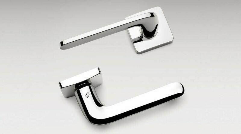 Colombo Design Door Lever ROBOQUATTRO/S -ID51NA- PRIVACY