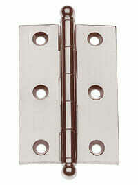 Von Morris Hardware Five Knuckle-Loose Pin Mortise Cabinet Hinge 2