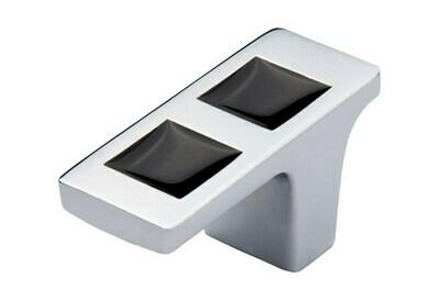 HandStyle Decorative Cabinet Hardware Modern Cabinet Knob W/Glass #91