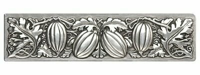 Notting Hill Cabinet Pull Autumn Squash Brilliant Pewter 4-7/8