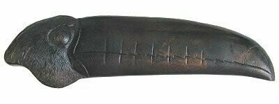 Notting Hill Cabinet Pull Toucan (Left side) Dark Brass 4-3/8