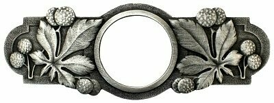 Notting Hill Cabinet Pull Horse Chestnut Antique Pewter 5
