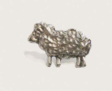 Emenee Decorative Cabinet Hardware Sheep 2-1/8