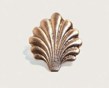 Emenee Decorative Cabinet Hardware Sea Shell 2'x1-3/4