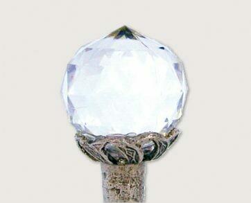 Emenee Decorative Cabinet Hardware Small Round Crystal 1
