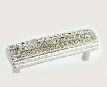 Emenee Decorative Cabinet Hardware Rhinestone Domed Handle 3-3/8