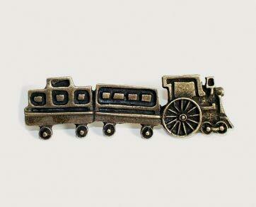 Emenee Decorative Cabinet Hardware Train Handle 4-1/4