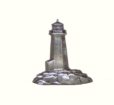 Buck Snort Lodge Hardware Cabinet Knob Stand-Alone Lighthouse