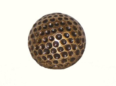 Buck Snort Lodge Decorative Hardware Cabinet Knobs and Pulls Small Golf Ball