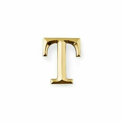 Michael Healy Designs Letter T Door Knocker - Brass