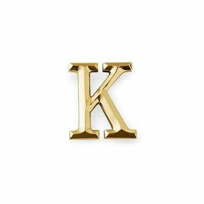 Michael Healy Designs Letter K Door Knocker - Brass