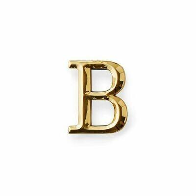 Michael Healy Designs Letter B Door Knocker - Brass