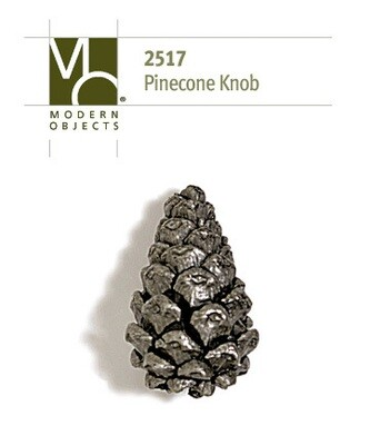 Modern Objects Designer Hardware Pinecone Cabinet Knob