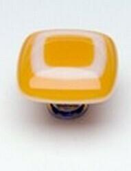 Sietto Glass Cabinet Knob Luster Marigold