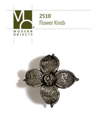 Modern Objects Designer Hardware Flower Cabinet Knob