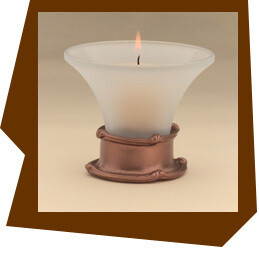 Anne at Home  Mai Oui Candle Votive