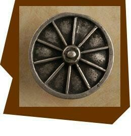 Anne At Home Wagon Wheel Cabinet Knob - Large