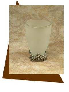 Anne At Home  Corinthia Tumbler with Attached Base