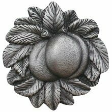 Notting Hill Cabinet Knob Georgia Peach Antique Pewter 1-5/8