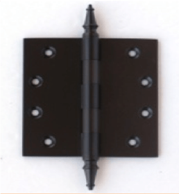 Deco & Deco Decorative Steeple Tip Door Hinges 4