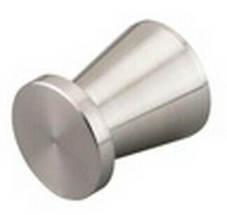 Hafele Cabinet Hardware, Door Knob, stainless steel, matt, diameter 16mm