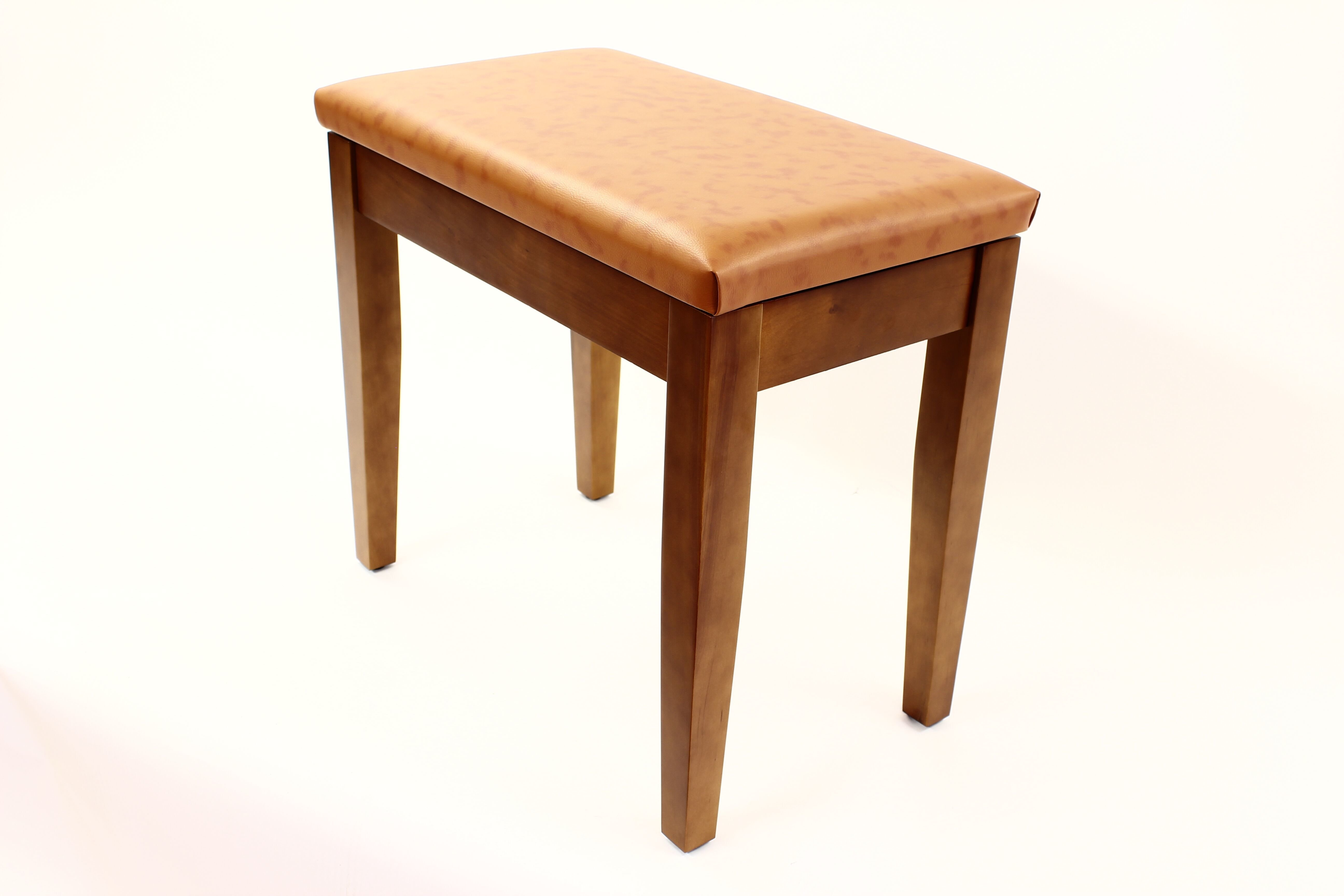 Coda Piano Stool Walnut with Storage 00063