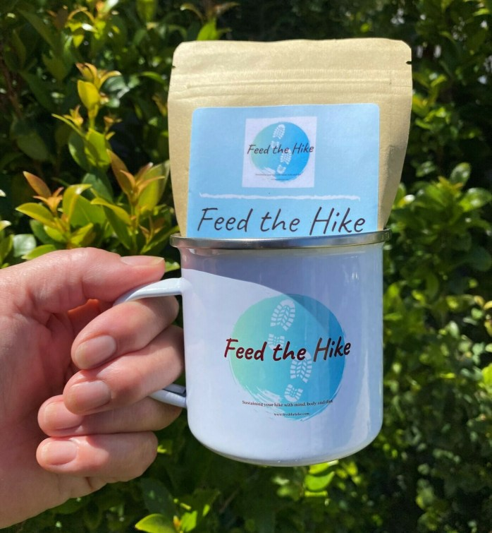 1 Lunch Soup + Feed the Hike Enamel Mug Lunch Size (350ml)